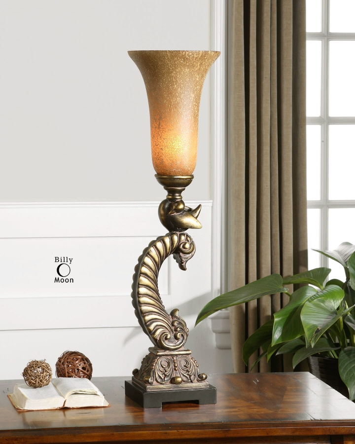Add A Buffet Lamp For Soft Lighting In Your Henderson Home Interior Design  » Table Torchiere Buffet Lamp