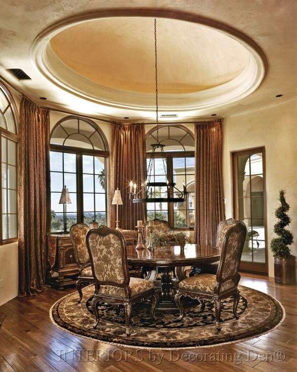 Dining Room Window: Discover Creative Custom Window Treatments For Arched