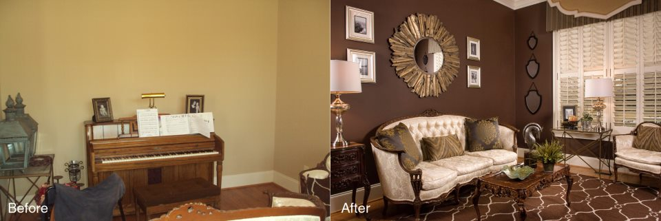alfa img showing before and after interior decorating