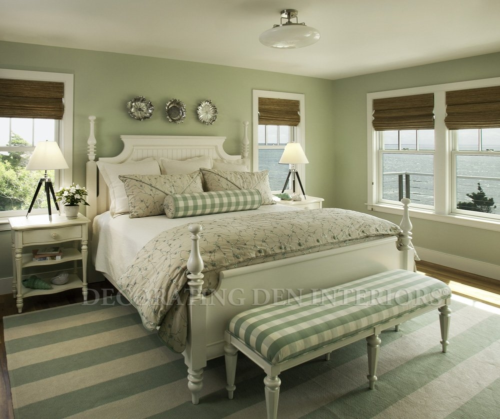 Beach Cottage Interior Design Bedroom