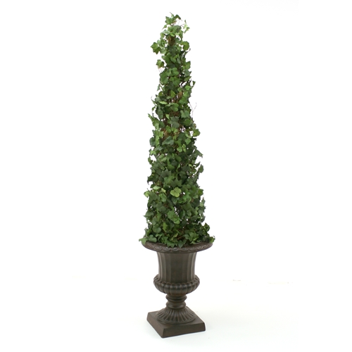 tall traditional topiary plant