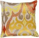 Ikat Pattern Accent Pillow