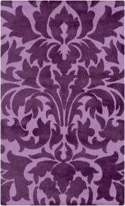 Radiant Orchid Area Rug